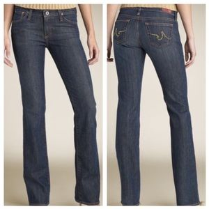 Adriano Goldschmied Kiss Low Rise Straight Jeans